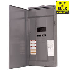 shop circuit breakers load centers fuses at lowes com square d 16 circuit 8 space 200 amp main breaker load center
