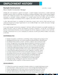 Extension Agent Sample Resume Stunning Mining Resume Examples Businessdegreeonlineco