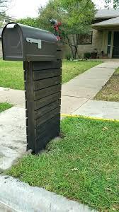 mailbox post design ideas. Contemporary Mailbox Post Ideas Design