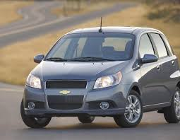 The Chevrolet Aveo 1.2 LS. You get a lot of car for your money ...