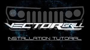 oracle lighting vector grill diy install 2007 17 jeep wrangler