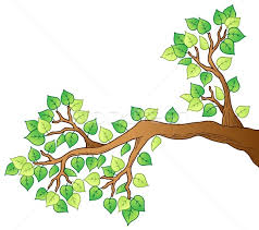 tree branch with leaves vector. cartoon tree branch with leaves 1 vector illustration © klara viskova (clairev) (#1512351) | stockfresh