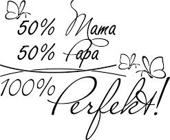 Wandtattoo Spruch 50 Mama 50papa