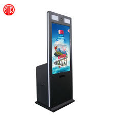 Vending Machine Camera Simple 48 Inch Touch Screen Photo Booth Kiosk Machine With Printer And