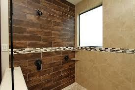wood tile shower wall o2 pilates regarding ideas 3