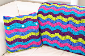 Ripple Afghan Patterns Gorgeous Free Crochet Pattern Ripple Afghan Charmed By Ewe