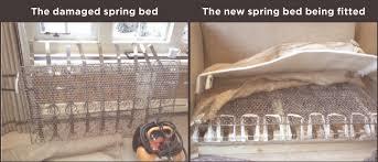 broken spring sofa bed