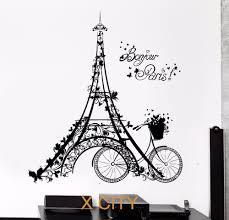 Eiffel Tower Bedroom Decor Eiffel Tower Wall Stencil Promotion Shop For Promotional Eiffel