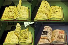 found some interesting pages in the journal in the latest episode not sure if posted before