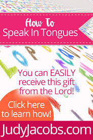 how to speak in tongues by pastor judy jacobs judyjacobs