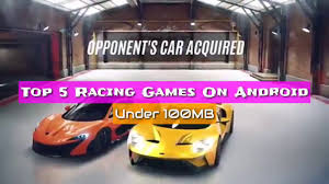 top 5 best racing games for android in 2018 under 100mb offline hd graphics