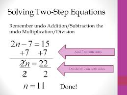solving 1 2 multi step equations lessons tes teach