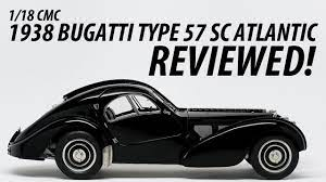 The 75 year history of each bugatti atlantic is entertaining conjecture for any bugatti enthusiast. 1 18 Cmc 1938 Bugatti Type 57 Sc Atlantic Reviewed Youtube