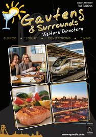 Gauteng Visitors Guide 3rd Edition By Visitor Guides Issuu