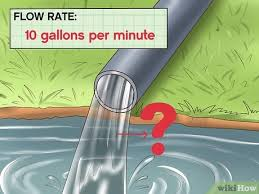 Pvc Pipe Gravity Flow Rate Chart How To Calculate Water Pump Horsepower 14 Steps With Pictures