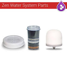 3 pk zen water system ceramic dome multi infrared carbon filter mineral stone