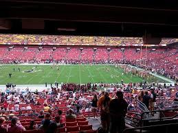 Washington Redskins Seating Guide Fedexfield