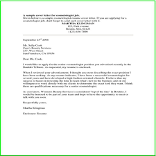 Example Of Cover Letter For Job Application Jobs With 15 Appealing