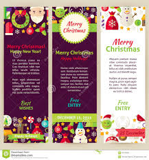 christmas party flyer template stock vector image  merry christmas vector party invitation template flyer set stock images