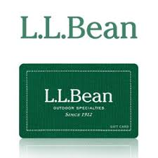 l l bean gift cards and e gift cards