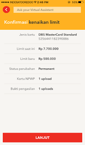 When To Ask For A Credit Line Increase Travel Credit Card Increase Limit Dbs Bank Indonesia