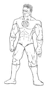Small Picture Green Lantern is Ready for the Enemy Colouring Page Green Lantern