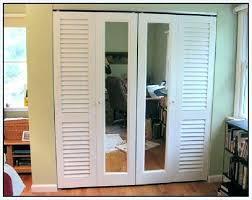 mirror closet doors mirrored bifold home depot canada mirro
