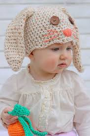 Free Crochet Hat Patterns For Toddlers Classy Free Crochet Bunny Hat Pattern NewbornToddler Make Do Crew
