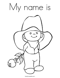 Small Picture Coloring Pages Of Your Name Coloring Home