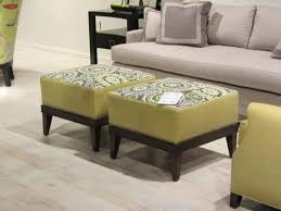 upholstered ottoman coffee table tables custom fabric canada storage set leather combinationcoffee round gray 109