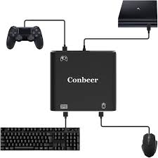Amazoncom Mouse Controller Keyboard Adapter Conbeer Pubgfortnite