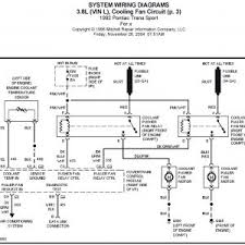 pontiac trans sport 38l cooling fan circuit circuit wiring wire pontiac trans sport wiring diagram cooling fan wiring diagram manual new wiring diagram for radiator rh gidn co