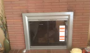 worthy fireplace glass door installation f76 on fabulous decorating home ideas with fireplace glass door installation