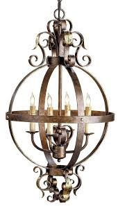 currey and company 9390 coronation 4 light single tier chandelier cupertino gold leaf indoor lighting chandeliers