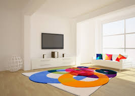 colorful living room rugs best of bubbles outline contemporary modern area rugs by sonya winner
