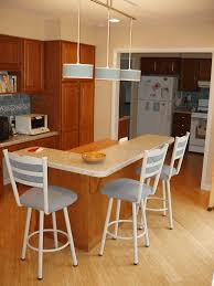 eye catching l shaped kitchen island what are the best breakfast bar design