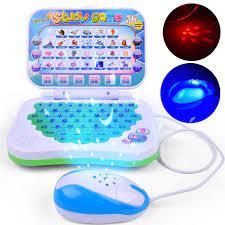 Orijinal çocuklar Lap Top bilgisayar oyuncak bebek çocuk okul öncesi eğitim  öğrenme çalışma dizüstü bilgisayar oyuncak oyunu için bebek göndermek  rastgele J75 Learning Machines