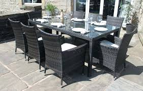 outdoor dining sets for 8. Outdoor Dining Table For 8 Impressing Sets Of  Rectangular Patio Seats . M