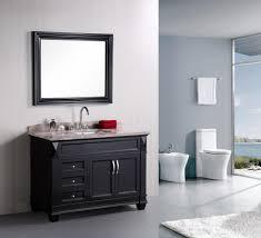 elegant black wooden bathroom cabinet. bathroom2017 elegant black wooden bathroom cabinet vanities with shiny creamy granite countertops connected backsplash l