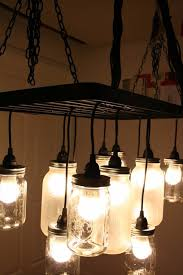 southern charm mason jar chandelier 13 diy mason jar lights ideas to make your garden romantic