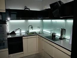 kitchen glass backsplash. Black Modern Kitchens Design With Skinali Backsplash And Neon Lighting Kitchen Glass E