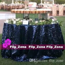 navy blue round tablecloth outstanding basics polyester 70 inch