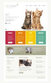 Veterinary Website Design Inspiration Vet Website Template 38270 Page Layout Design Pets