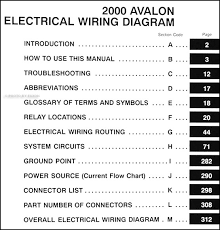 avalon wiring harness avalon wiring diagrams online 2000 avalon wiring diagram