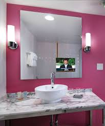 Loft Bathroom Mirror Tv Bathrooms With Tvs At The Flamingo Las - Tv for bathrooms