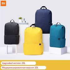 Buy Online 20L <b>Original Xiaomi Backpack</b> Bag Colorful Leisure ...