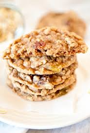 oatmeal raisin cookies soft chewy and use a melted er technique so no coconut chocolate chip