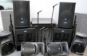 sound system. we specialize in top of the line musical instrument and sound system rentals. t