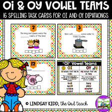 Oi Oy Anchor Chart Oi And Oy Activity Spelling Scoot