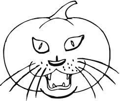Small Picture Cat Pumpkin coloring page Free Printable Coloring Pages